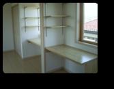 越谷市H様邸作り付けの勉強机