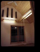 越谷市K様邸照明器具のカバーは建主さんの手作り