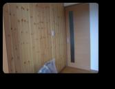 越谷市T様邸無垢材をアクセント壁にした玄関ホール
