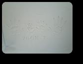 越谷市T様邸記念の手形